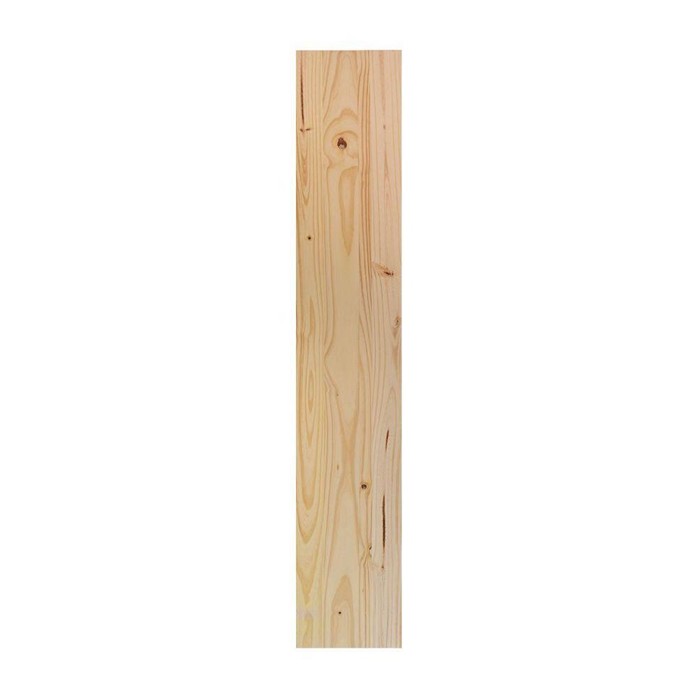 HDG 12 x 72 inch Laminated Whitewood Panel