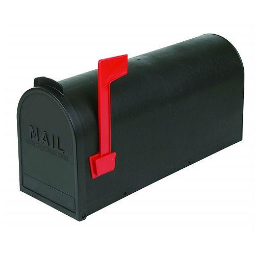 Boîtes aux lettres rurales en plastique - Noir