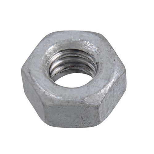 1/4-inch-20 Finished Hex Nut-Grade 2-Oversized - Hot Dipped Galvanized - UNC