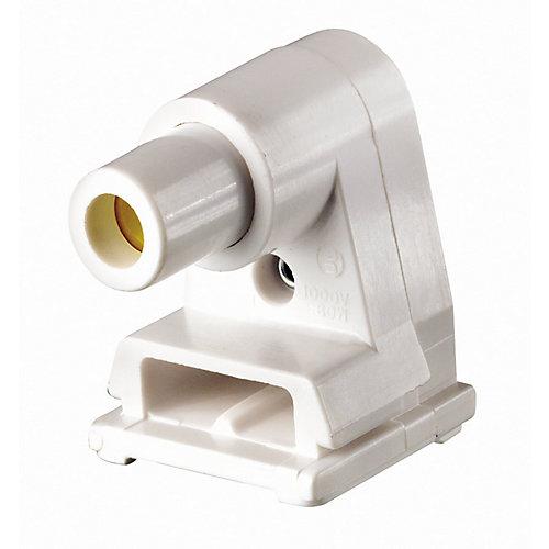 Slimline Fluorescent Lamp holder W/Plunger
