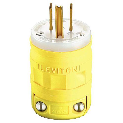 Leviton Fiche Dustguard, Nema 5-15p, 15 A