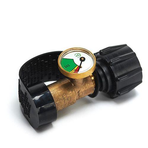 Propane Safety Gauge and Adaptor