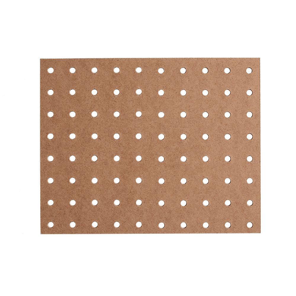 Fibrex Panneau de fibres dures haute densité perforé 5,5mm 48po x 96po