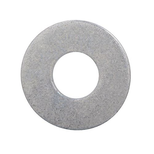 1/4-inch Bolt Size Flat Washers - Hot Dipped Galvanized