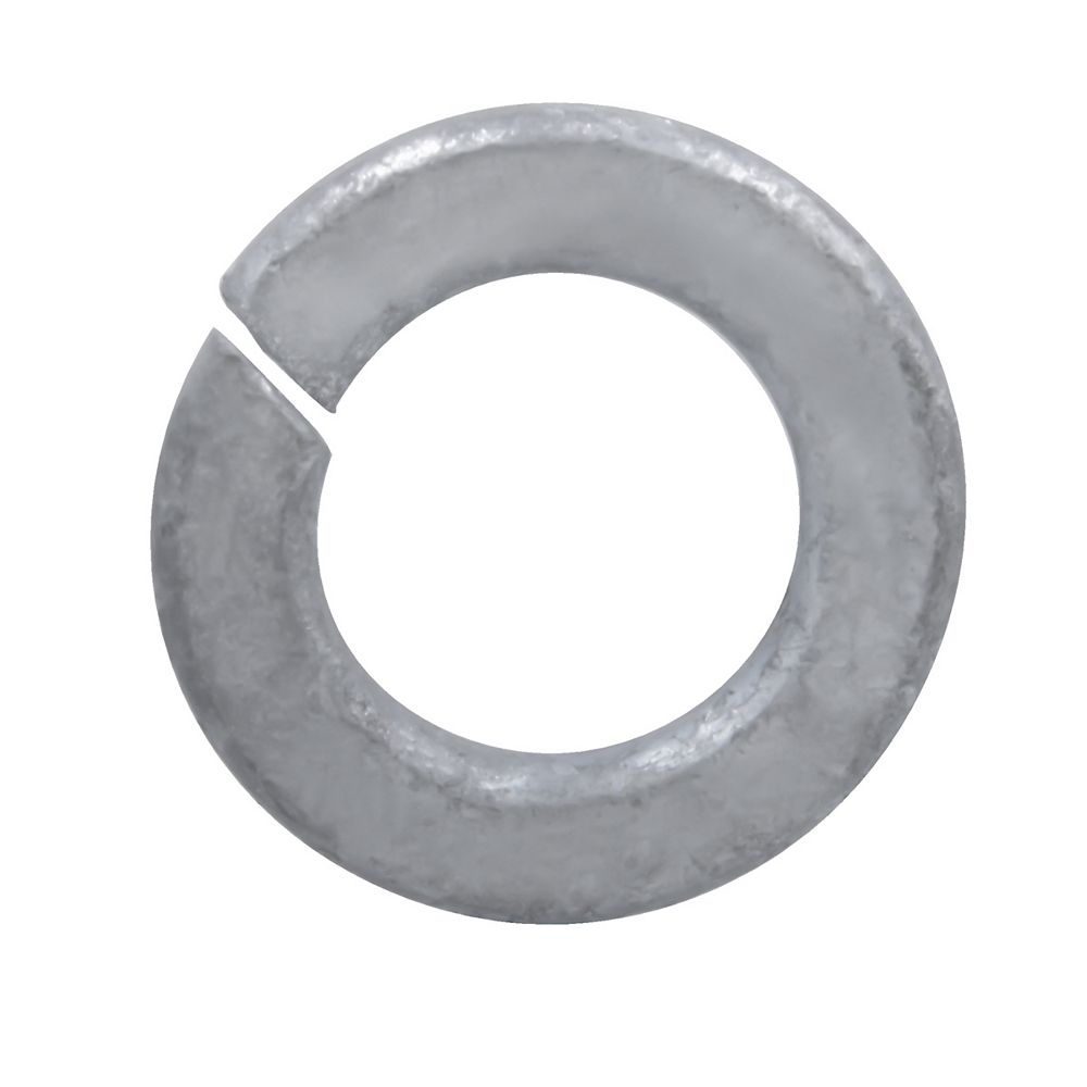 Paulin 1/2-inch Regular Spring Lock Washers - Hot Dipped Galvanized