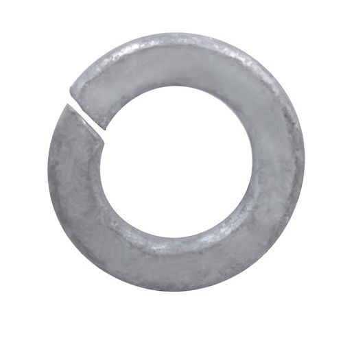 1/2-inch Regular Spring Lock Washers - Hot Dipped Galvanized