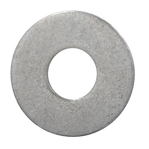 Rondelles plates de 1/2 pouce - galvanisées à chaud