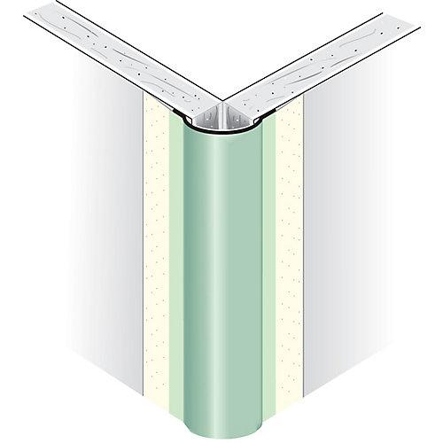 CGC Paper-Faced Metal Outside Corner Bead, Bullnose 1/2 In. radius, 8 Ft.