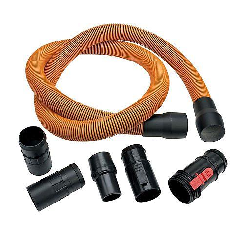 1-7/8 in. x 10 ft. (3 m) Pro-Grade Wet/Dry Vacuum Hose