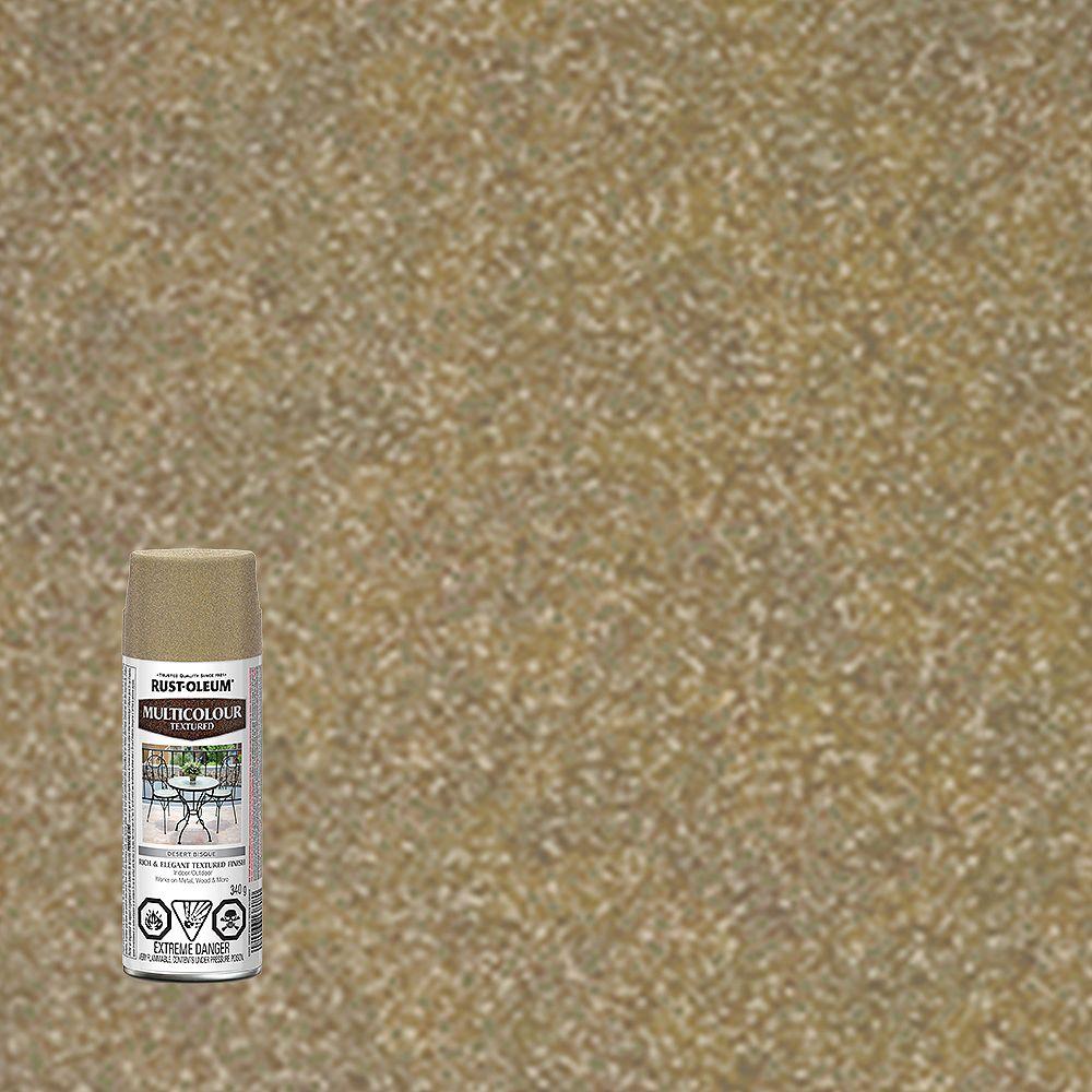 Rust-Oleum Fini texturé multicolore - Bisque du  désert