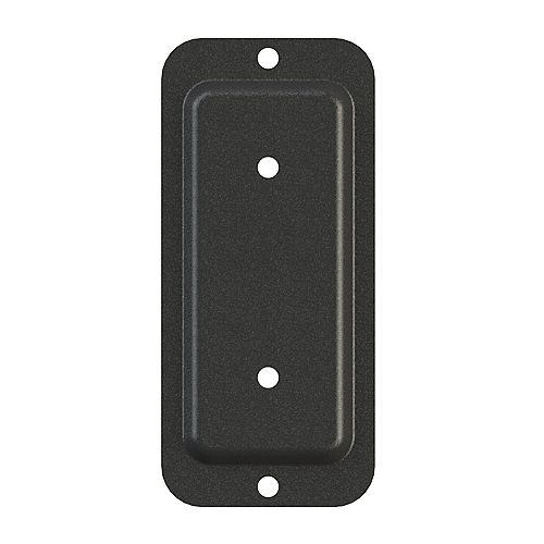 Peak Products 2-inch x 4-inch Wood To Wood Connector Plate in Black