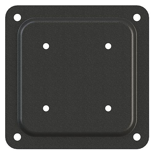 Peak Products 4 inch by 4 inch Wood To Wood Connector Plate in Black