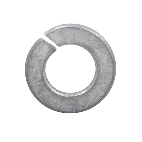 1/4-inch Regular Spring Lock Washers - Hot Dipped Galvanized
