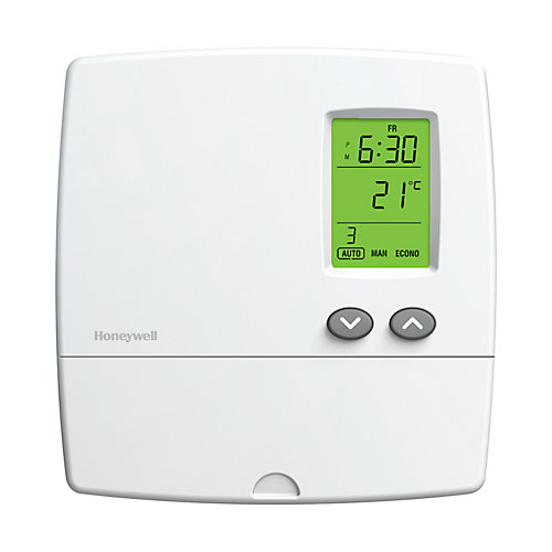 5-2 Day Programmable Electric Baseboard Heat Thermostat