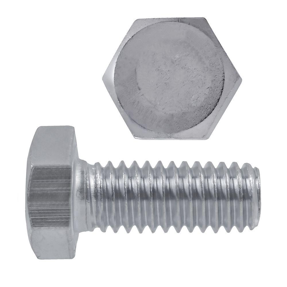 Paulin 1/4-inch-20 x 3/4-inch 18.8 Stainless Steel Hex Head Cap Screw - UNC