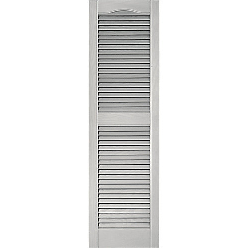 15-inch x 39-inch Paintable Louvered Shutter