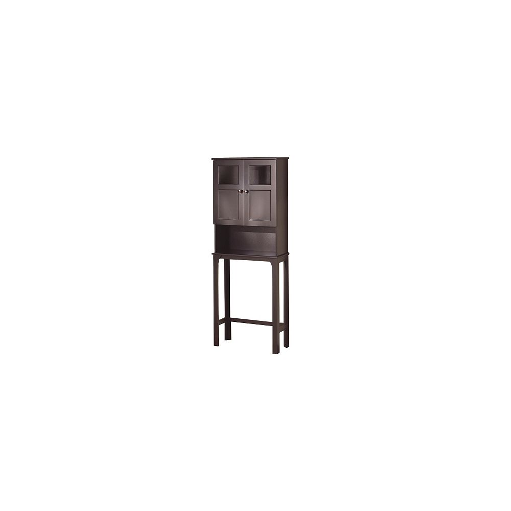 Woodnote Fairmont Collection-Space Saver Toilet Cabinet-Choc.