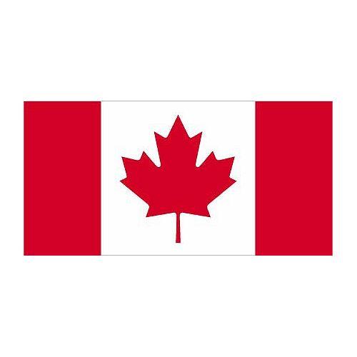 Drapeau du Canada 18 po x 36 po