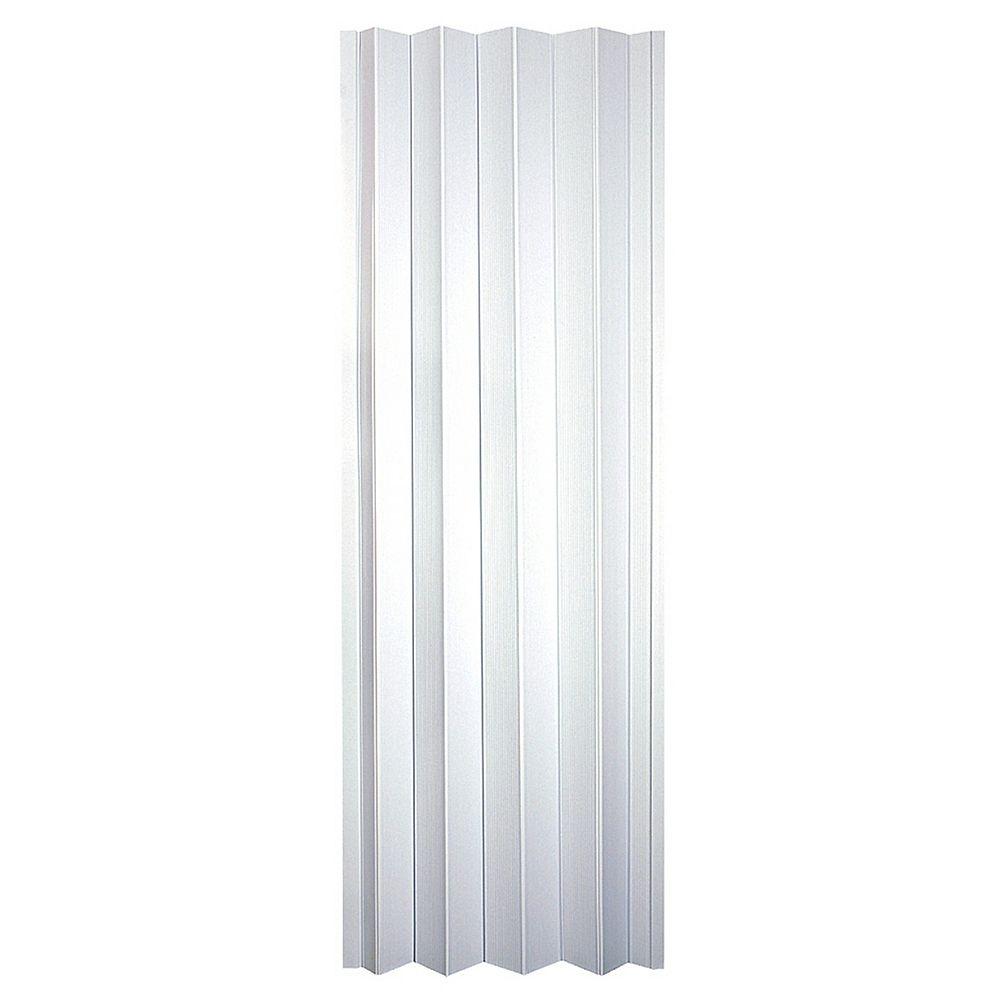 Spectrum 24-inch to 36-inch Oakmont Frost White Accordion Bifold Door