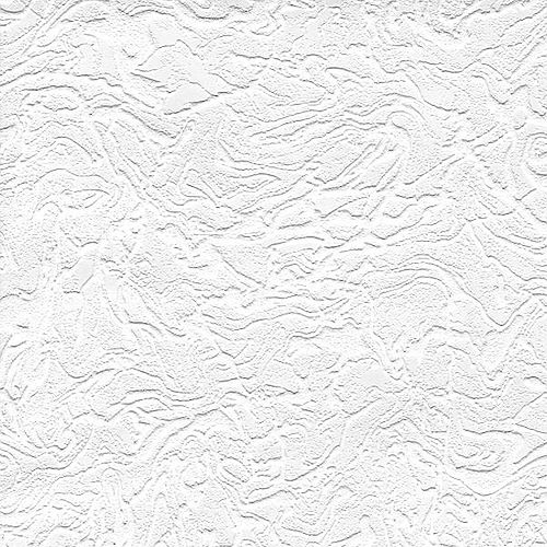 White Swirl Paintable Wallpaper