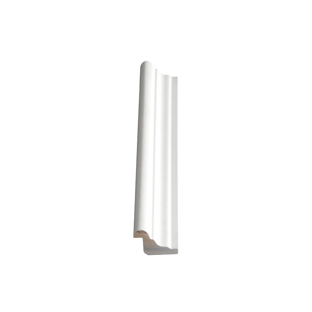 Alexandria Moulding Moulure de panneau, apprêté et jointé, en pin - 3/4 x 1 1/8 (Prix par pied)