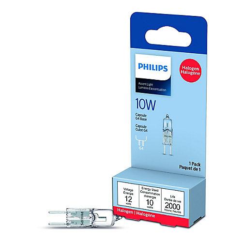 Lampe capsule à halogène 10 W 12V