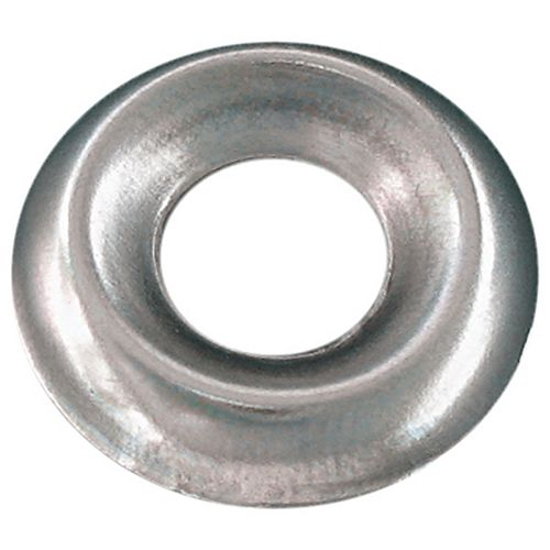 1/4-inch Steel Countersunk Finishing Washers-Standard Type-Nickel Plated