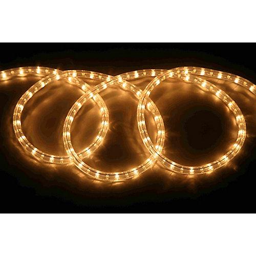 48FT Rope Light Kit - Clear