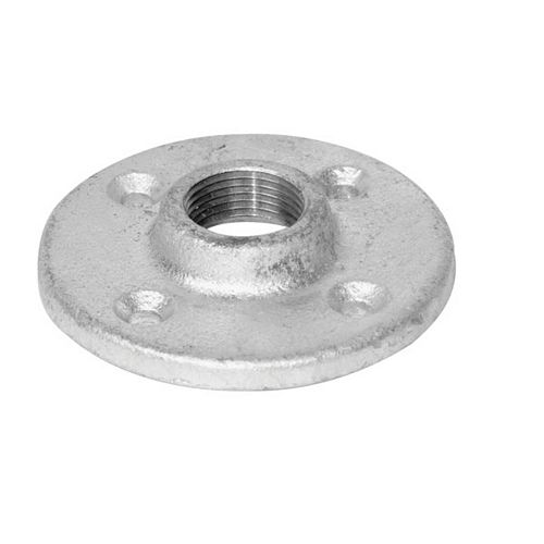 Fitting Galvanized Iron Floor Flange 1/2 Inch