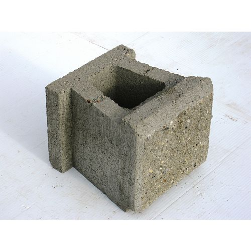 Oldcastle Allan Block Jumbo Gray
