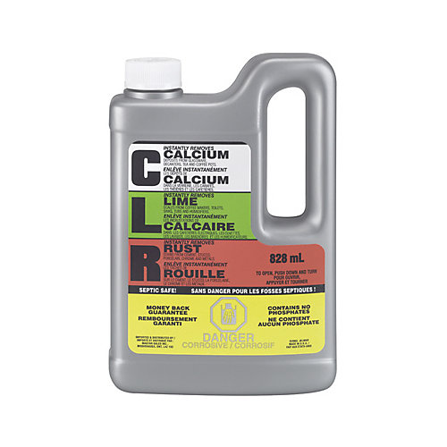 Calcium, Lime & Rust Remover, 828 mL