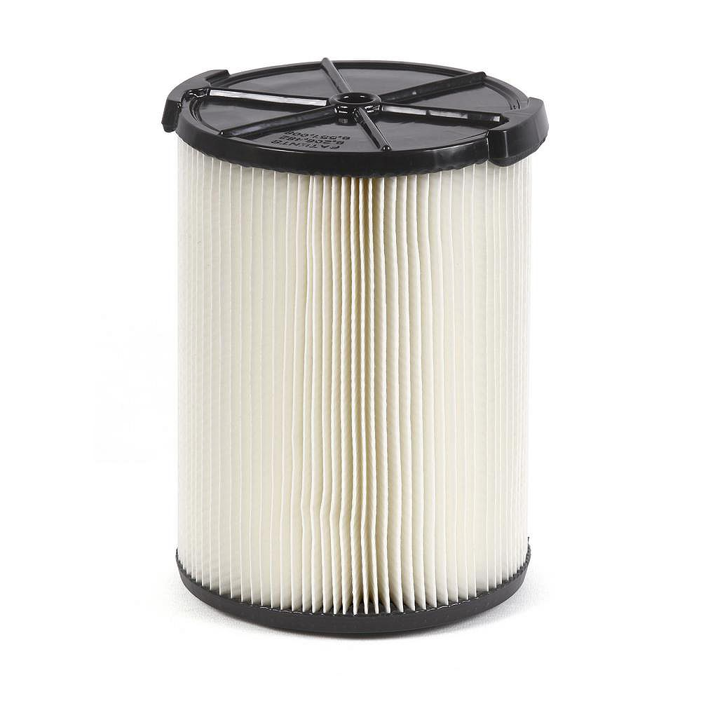 RIDGID Standard Filter For 18.9 L (5 Gal.) & Larger Wet Dry Vacuums