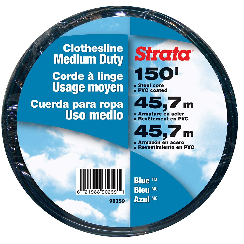 STRATA 3/16-inch x 150 ft. 610 lb. Tested Clothesline
