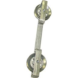 10-inch Metal Clothesline Spacer with Wheels