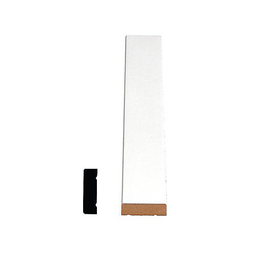 Appui de fenêtre jointé et apprêté, en pin 3/8 x 1 1/4 (Prix par pied)