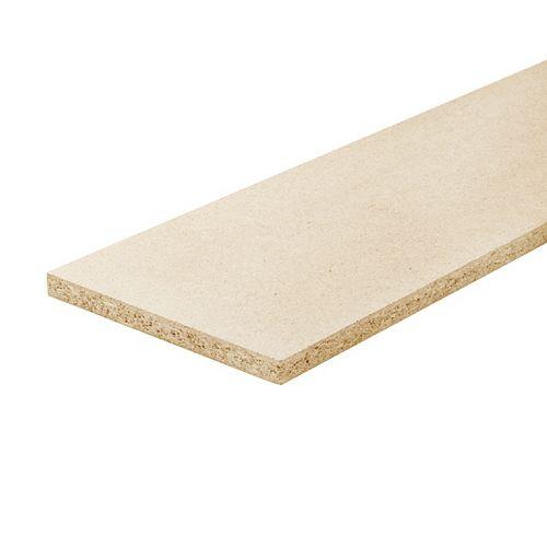 3/4-inch x 7 1/2-inch x 42-inch Unfinished Presswod Stair Riser