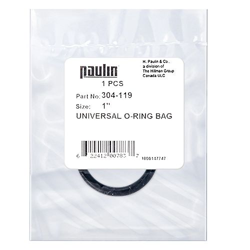 1 ID - 1-1/4 OD-inch Universal O-Ring - 1 pc