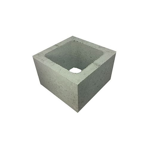 Basalite Concrete Products DEMI-BLOC 20CM