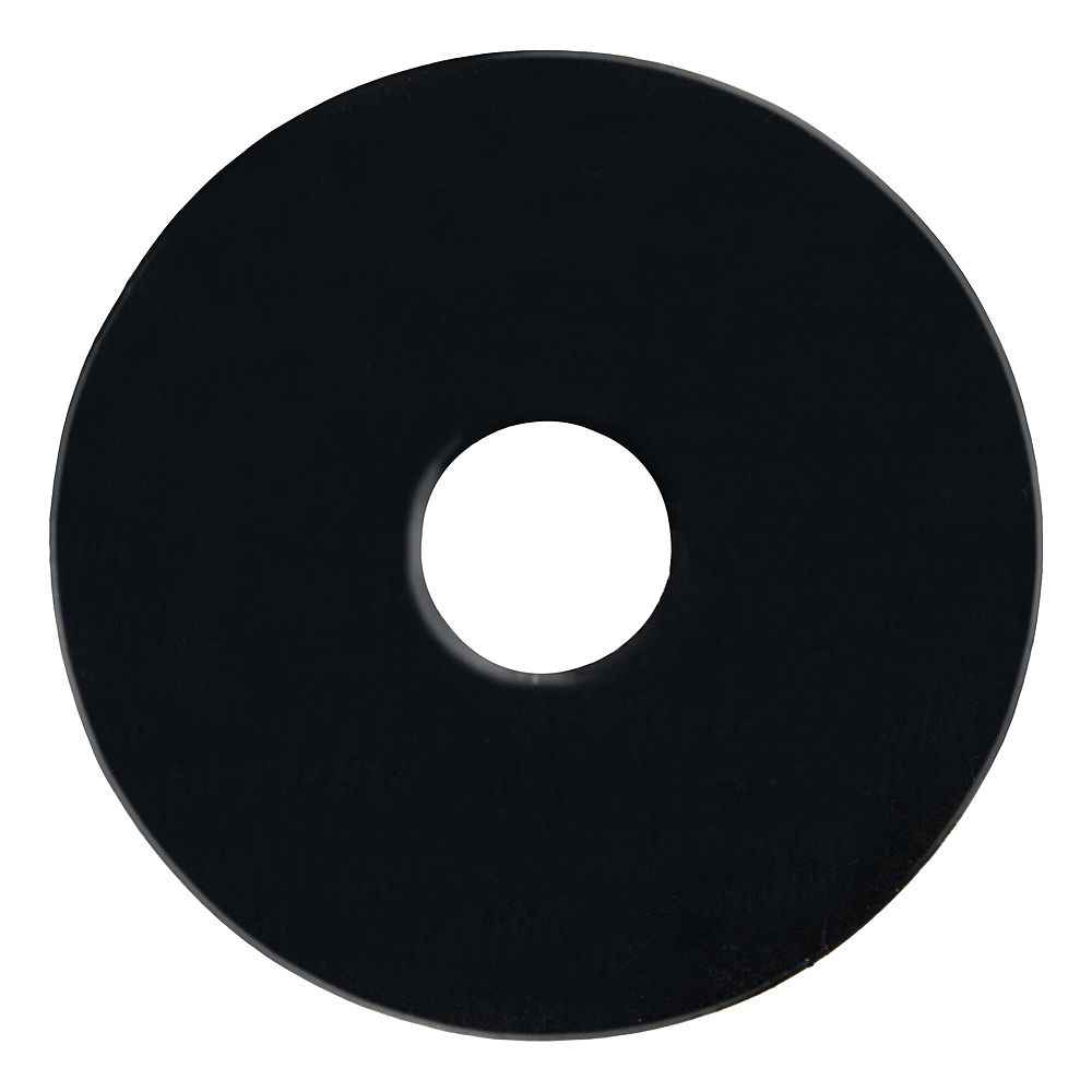 Paulin 3/8 ID - 1-1/2 OD-inch Rubber Washer (1/16-inchThick)