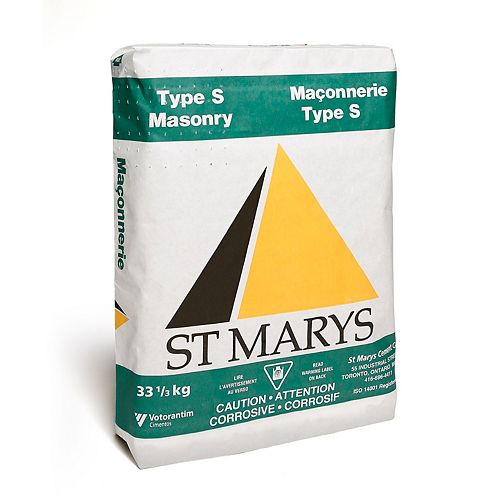 Type S Masonry Cement