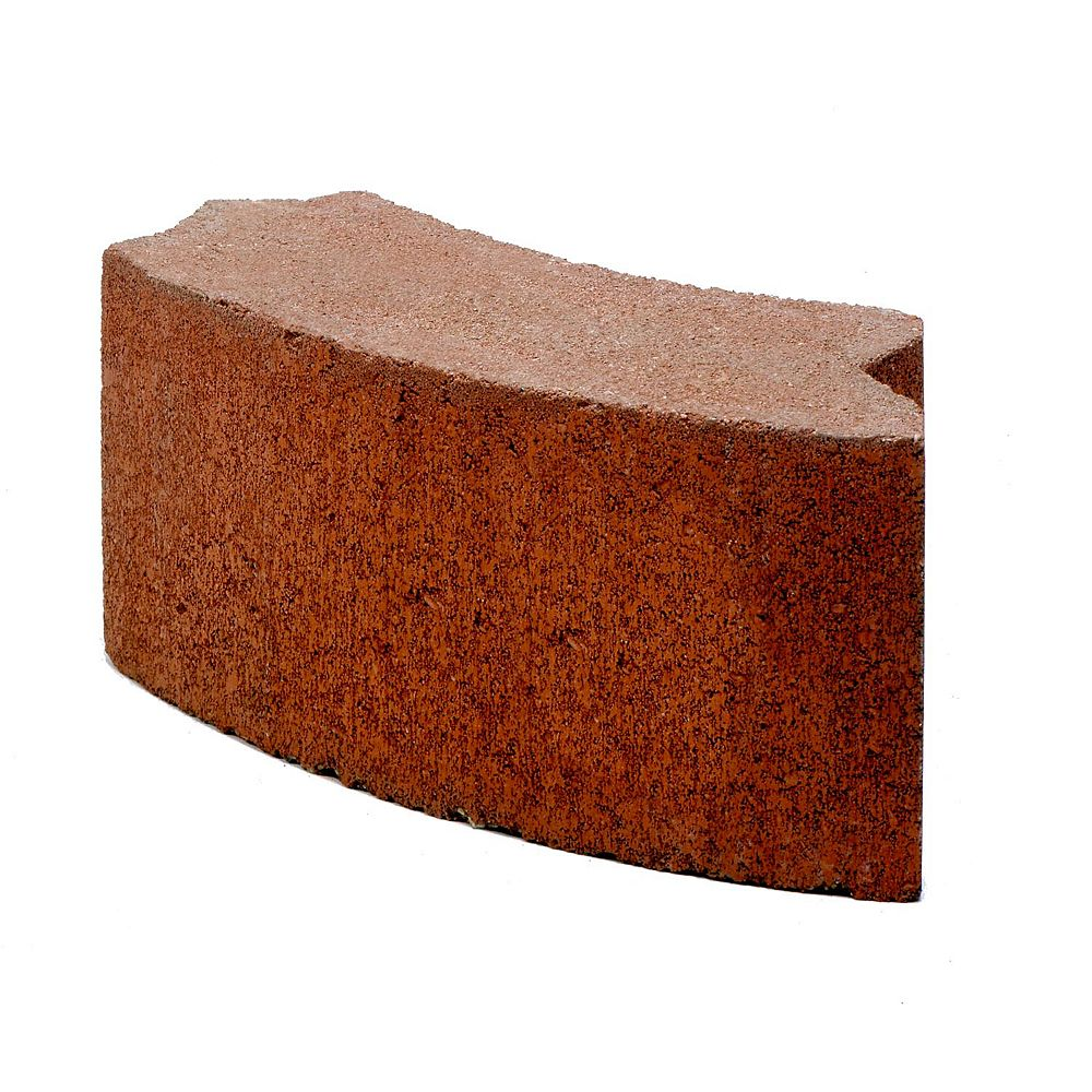 Cci Yardscapes 24 Inch Red Bbq Block The Home Depot Canada