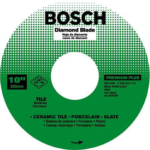 Bosch 10 In. Continuous Diamond Blade