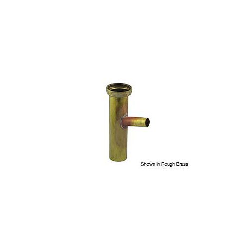 """Brass Dishwasher Tailpiece With 1/2"""" Clamp Style Connect"""