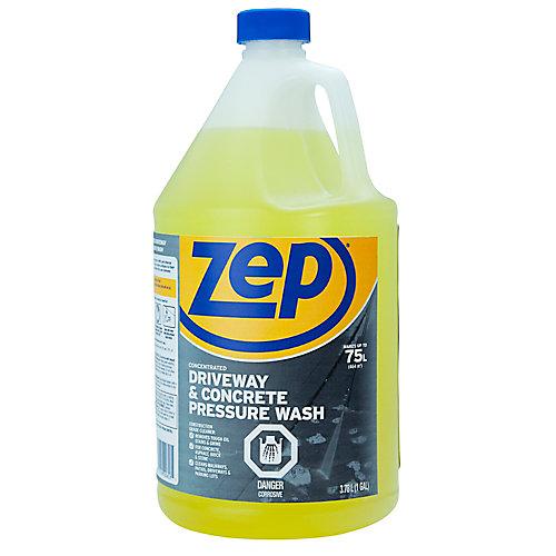 Nettoyant Zep pour les entrées de garage et le béton, pour pulvérisateur à pression