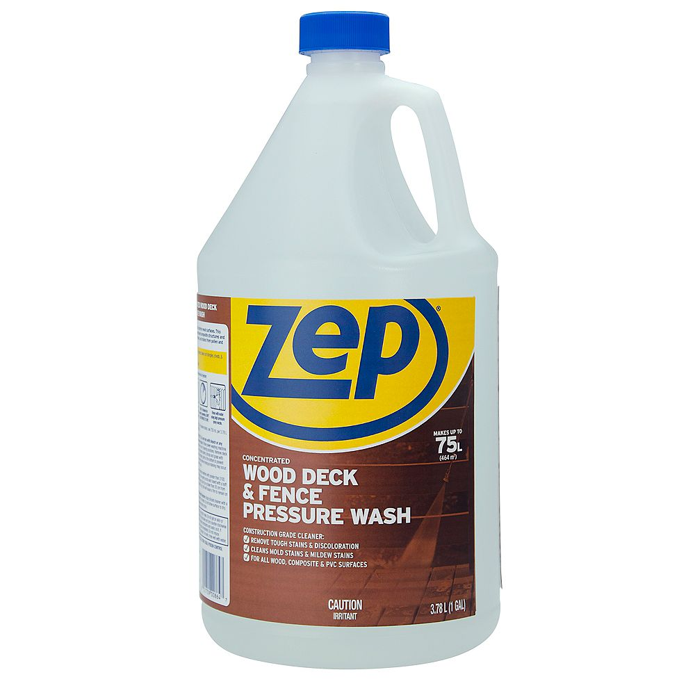 Zep Commercial Deck and Fence Cleaner