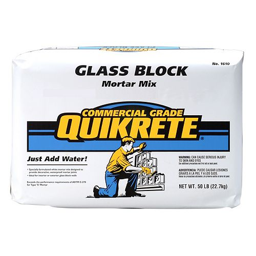Quikrete Glass Block Mortar 22.7kg