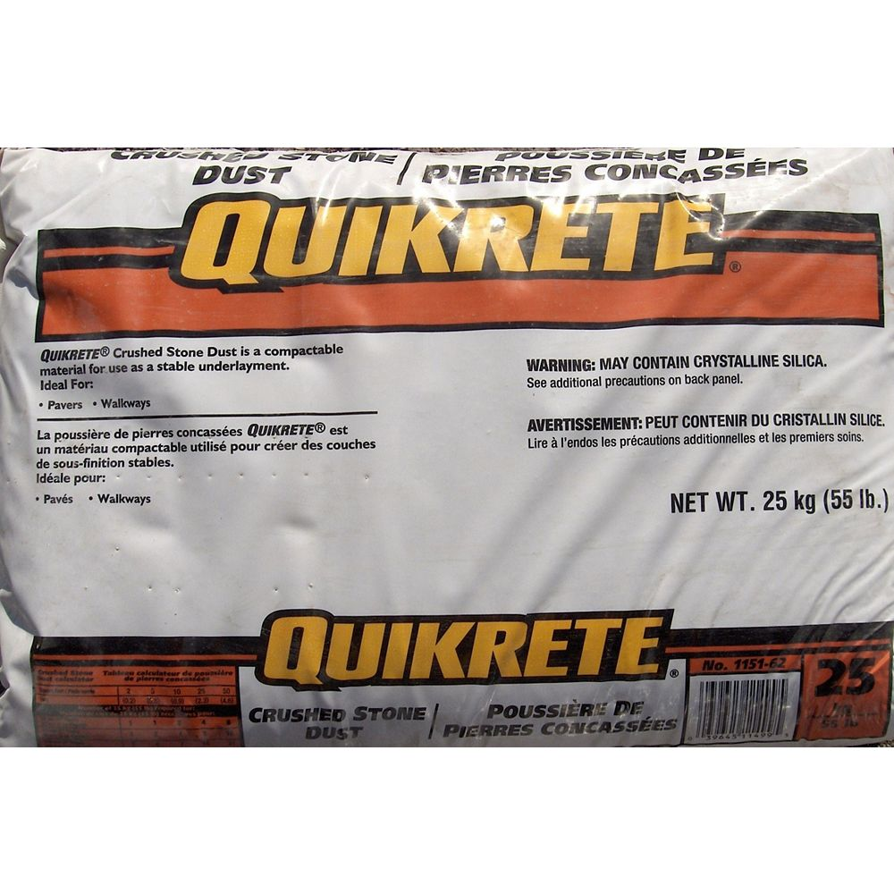 Quikrete Crushed Stone Dust 25kg