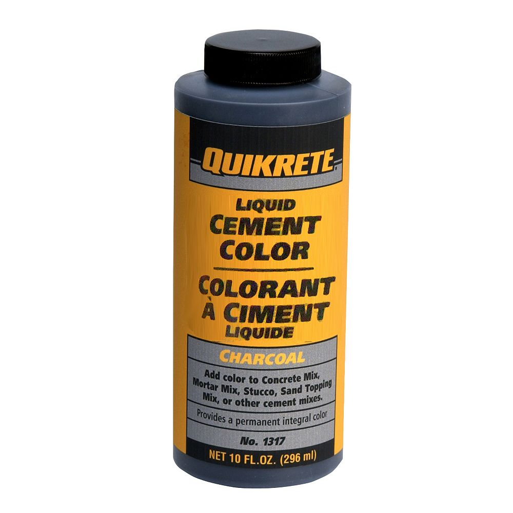 Quikrete Liquid Cement Color Charcoal 296ml The Home Depot Canada
