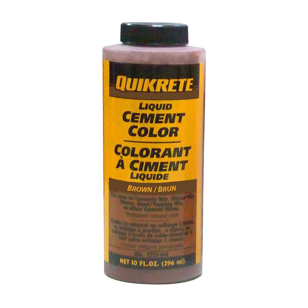 Quikrete Colorant Liquide Pour Beton Anthracite 296 Ml Home Depot Canada