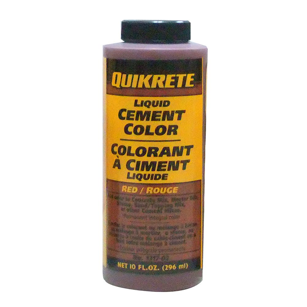 Quikrete Liquid Cement Color Red 296ml The Home Depot Canada